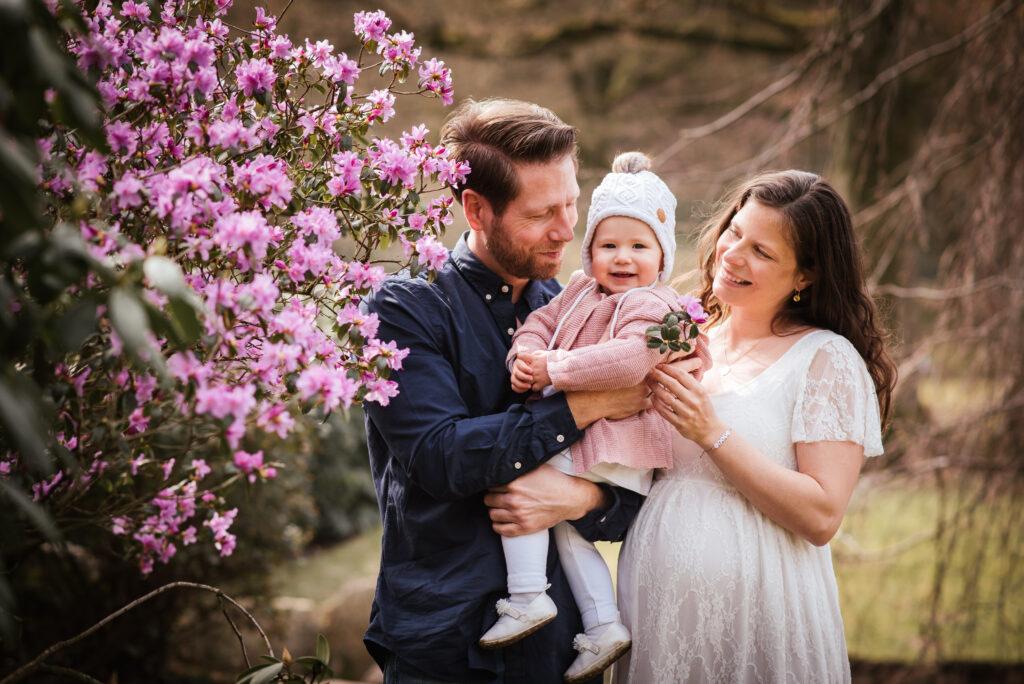 Babybauch Familie